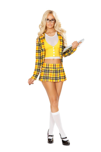 Buy 3pc School Girl without a Clue from RomaRetailShop for 69.99 with Same Day Shipping Designed by Roma Costume 4830-AS-S/M