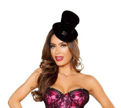 Buy Mini Top Hat from RomaRetailShop for 9.00 with Same Day Shipping Designed by Roma Costume 4835-AS-O/S