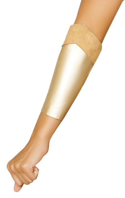 Buy Pair of Golden Arm Bands from RomaRetailShop for 11.25 with Same Day Shipping Designed by Roma Costume 4849-AS-O/S