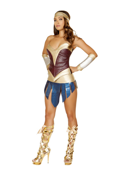 Buy 4pc American Heroine from RomaRetailShop for 69.99 with Same Day Shipping Designed by Roma Costume 4850-AS-S