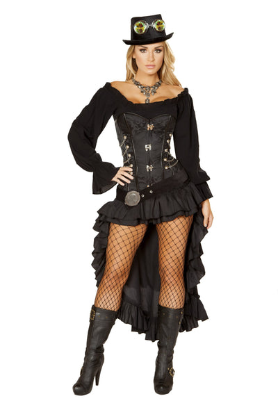 Buy 6pc Victorian Steam Maiden from RomaRetailShop for 177.99 with Same Day Shipping Designed by Roma Costume 4856-AS-S
