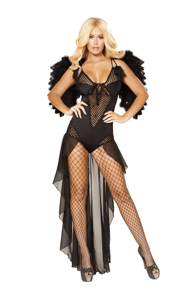 Buy 1pc Angel of Darkness from RomaRetailShop for 64.99 with Same Day Shipping Designed by Roma Costume 4868-AS-S