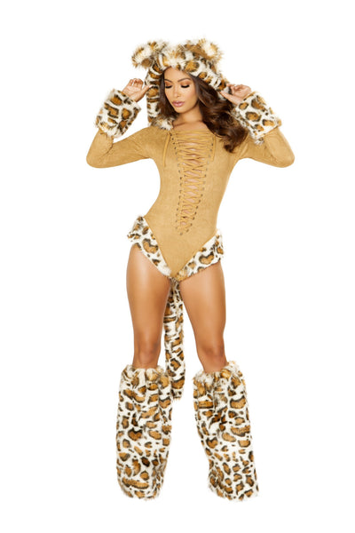Buy 1pc Leopard Princess from RomaRetailShop for 99.99 with Same Day Shipping Designed by Roma Costume 4874-AS-S