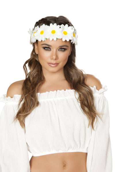 Buy Light-up Sunflower Headband from RomaRetailShop for 11.25 with Same Day Shipping Designed by Roma Costume 4882-AS-O/S