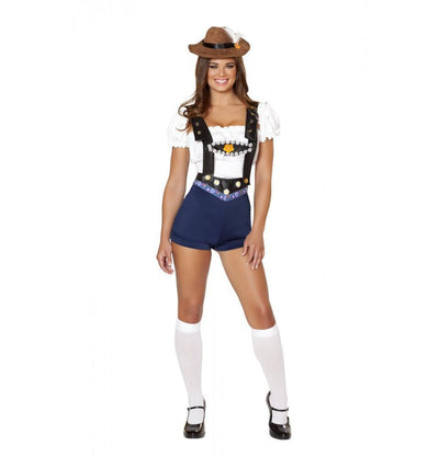 Buy 4pc Bodacious Beer Babe Costume from RomaRetailShop for 64.99 with Same Day Shipping Designed by Roma Costume 4535-AS-S/M