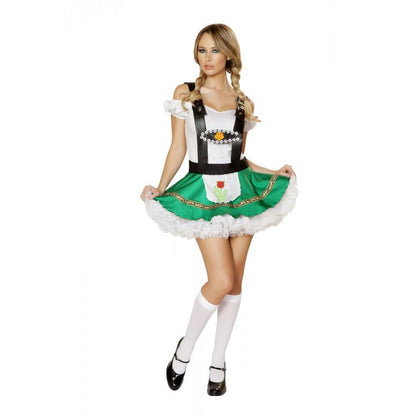 Buy 2pc Sexy Hoffbrau Lady Costume from RomaRetailShop for 39.99 with Same Day Shipping Designed by Roma Costume 4536-AS-S/M