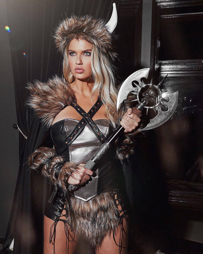 Buy 4pc Viking Warrior from RomaRetailShop for 157.99 with Same Day Shipping Designed by Roma Costume 4892-AS-S