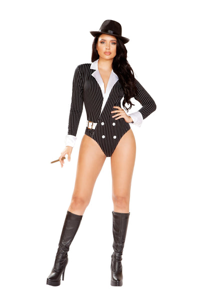 Buy 1pc Gangster Criminal from RomaRetailShop for 49.99 with Same Day Shipping Designed by Roma Costume 4922-AS-S/M