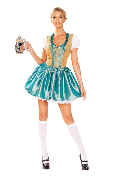 Buy 1pc Beer Girl from RomaRetailShop for 69.99 with Same Day Shipping Designed by Roma Costume 4948-AS-S
