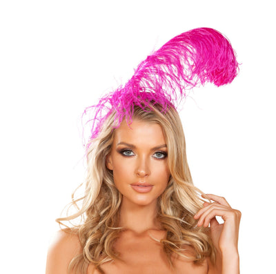 Buy Feather Headband from RomaRetailShop for 3.99 with Same Day Shipping Designed by Roma Costume 4953-Pink-O/S