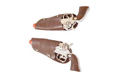 Buy Pair of Toy Cowboy Guns from RomaRetailShop for 3.99 with Same Day Shipping Designed by Roma Costume 4955-AS-O/S
