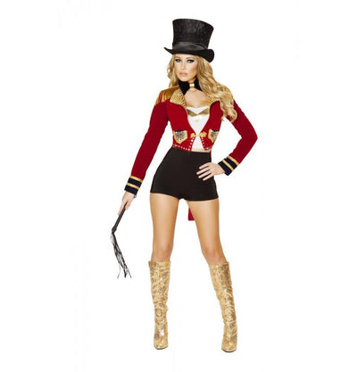 Buy 6pc Seductive Circus Ringleader Costume from RomaRetailShop for 239.99 with Same Day Shipping Designed by Roma Costume 4518-AS-S