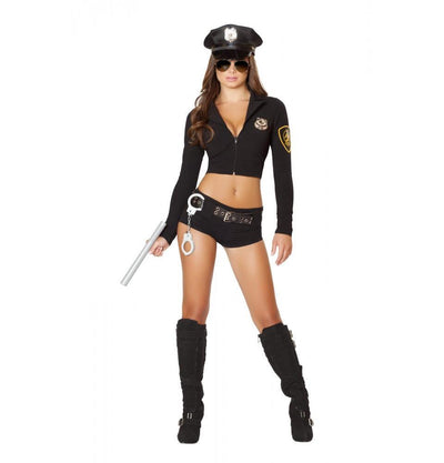 Buy 7PC Officer Hottie Costume from RomaRetailShop for 69.99 with Same Day Shipping Designed by Roma Costume 4500-AS-S/M