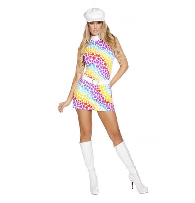 Buy 2pc Lusty Hippie Child from RomaRetailShop for 29.99 with Same Day Shipping Designed by Roma Costume, Inc. 4641-AS-S/M