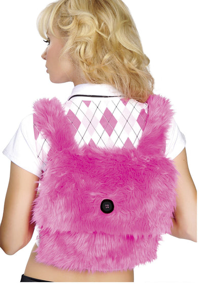 Buy Fur Back Pack from RomaRetailShop for 9.99 with Same Day Shipping Designed by Roma Costume BP4125-HP-O/S