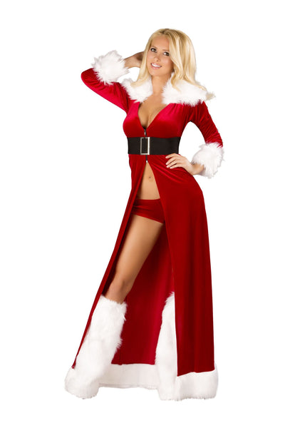 Buy 3pc Sexy Miss Claus from RomaRetailShop for 118.99 with Same Day Shipping Designed by Roma Costume C170-AS-S/M