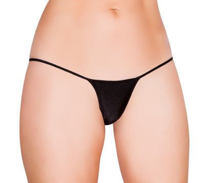 Buy Tiny GString Bikini Bottom from RomaRetailShop for 8.00 with Same Day Shipping Designed by Roma Costume Chip-Blk-O/S