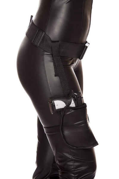 Buy Leg Holster with Connected Belt (Gun Not Included) from RomaRetailShop for  with Same Day Shipping Designed by Roma Costume, Inc.
