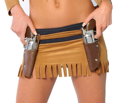 Buy Double Gun Holster from RomaRetailShop for  with Same Day Shipping Designed by Roma Costume
