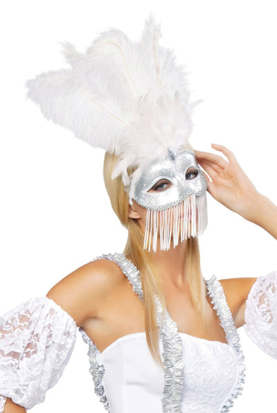 Buy Beaded Masquerade Mask from RomaRetailShop for  with Same Day Shipping Designed by Roma Costume