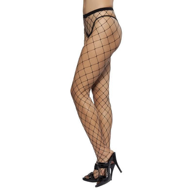 Buy Open Fishnet Pantyhose from RomaRetailShop for 3.75 with Same Day Shipping Designed by Roma Costume PH101-AS-O/S