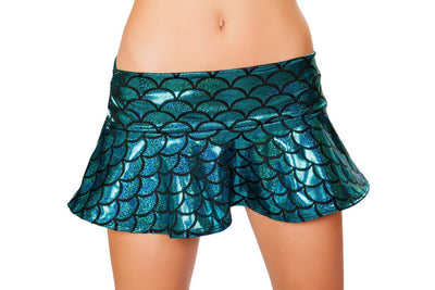 Buy Flared Mermaid Skirt from RomaRetailShop for 24.99 with Same Day Shipping Designed by Roma Costume SK3315-Gold-S/M
