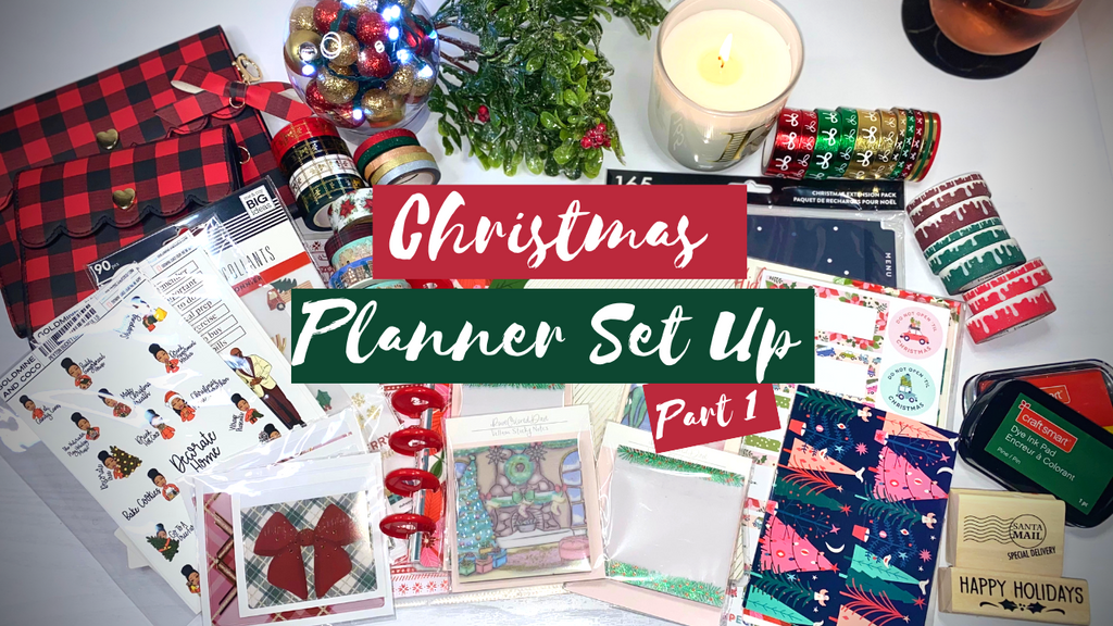 Christmas/Holiday Planner Set Up - Part 1