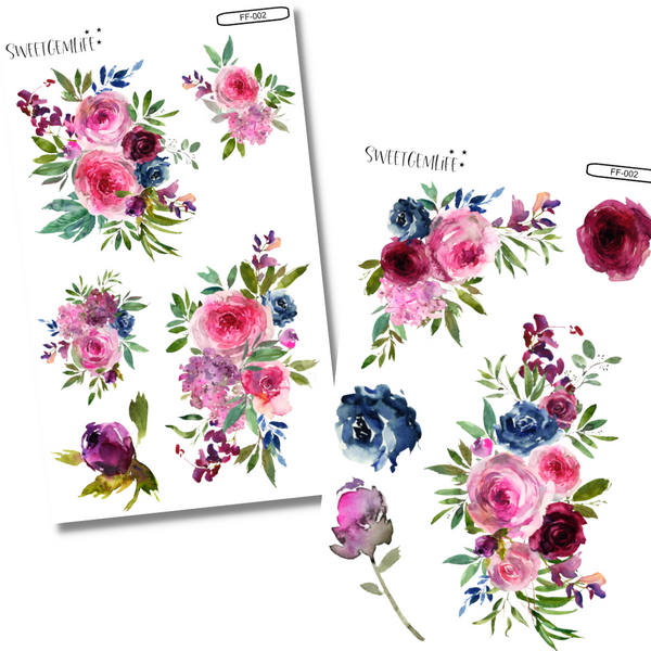 Functional Florals 2-Page Kit: FF-002