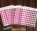 Functional Stickers: Love in Fall