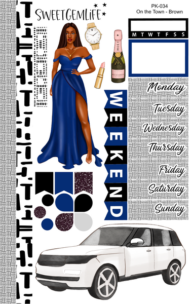 1 Page Kit: On the Town