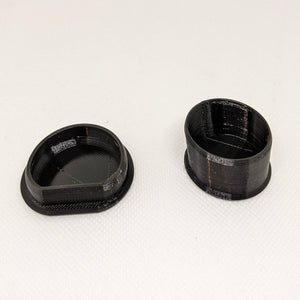 Black YZ Swingarm Plugs