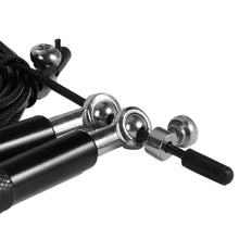 Load image into Gallery viewer, Professional Wire Skipping Rope with Metal Aluminum Handle