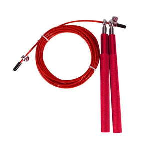 Professional Wire Skipping Rope with Metal Aluminum Handle