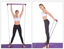 Load image into Gallery viewer, Pilates Pull Rod Resistance Bands