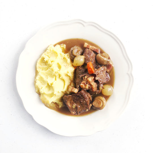 Hartwell food co ready made meal classic beef bourguignon