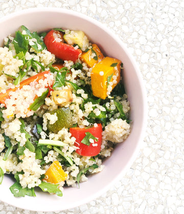 CHICKEN & VEGETABLE QUINOA SALAD