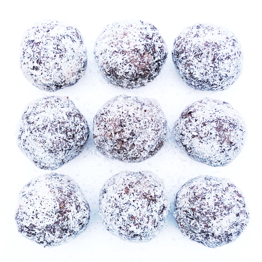 RAW CACAO PROTEIN BALLS