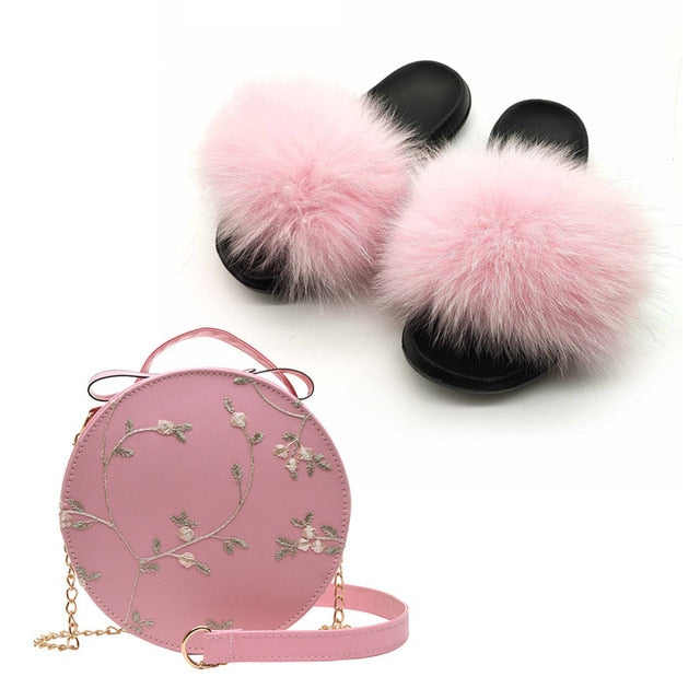 Slippers & Bags Set