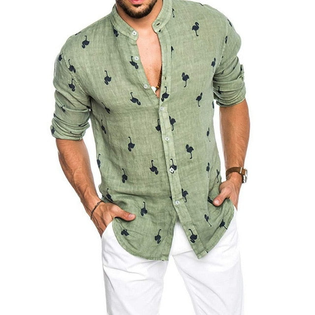 Linen Shirts Casual
