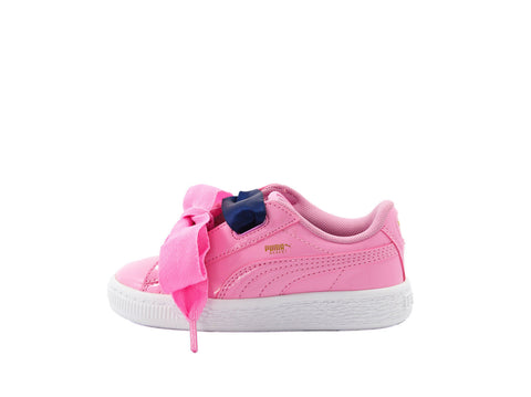 Puma Basket Heart Patent Kids