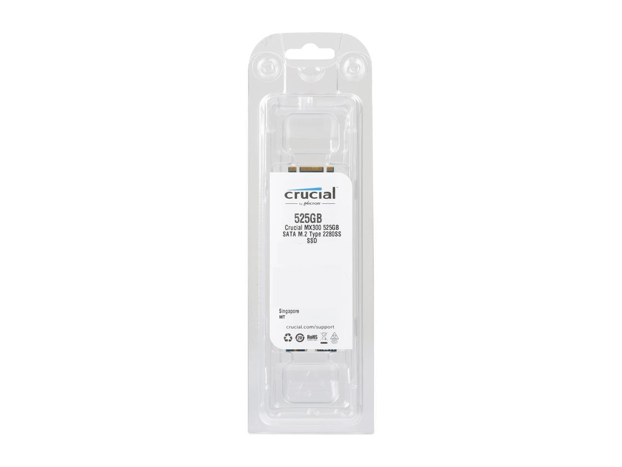 Crucial MX300 525GB M.2 (2280) Internal Solid State Drive - CT525MX300SSD4