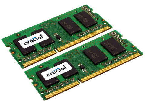 Crucial DDR3 1600 MT/s (PC3-12800) 204-Pin Memory Modules