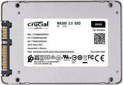 Crucial MX500 500GB SATA 2.5-Inch Solid State Drive