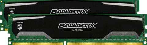 CRUCIAL Ballistix 16GB Kit (8GBx2) DDR3 1600 MT/s (PC3-12800) Desktop RAM