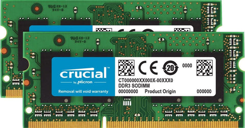 Crucial DDR3 1866 MHz (PC3-14900) 204-Pin Memory