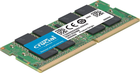 Crucial DDR4 2400MHz (PC4-19200) 260 Pin Memory Modules