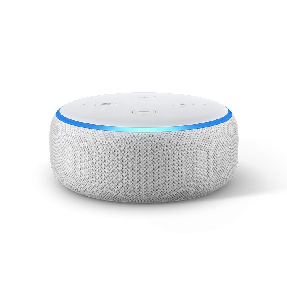 New Echo Dot (3nd Gen) - Smart speaker with Alexa