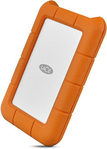 LaCie Rugged USB-C 5TB External Portable Hard Drive