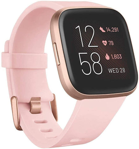 Fitbit Versa 2 (New) - Health and Fitness Smartwatch with Heart Rate, Music, Alexa Built-In