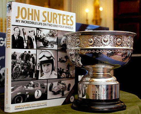 John Surtees's book wins RAC award